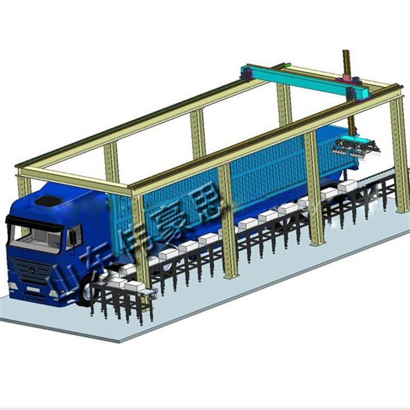 袋装肥料桁架装车机 复合肥全自动装车机器人