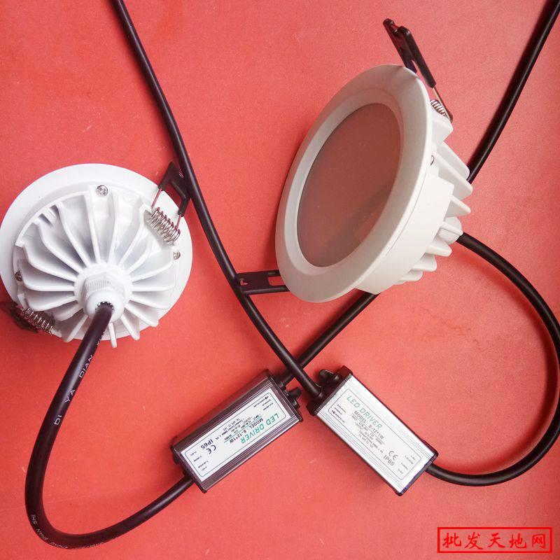 筒灯生产厂家12W15W防水筒灯外壳